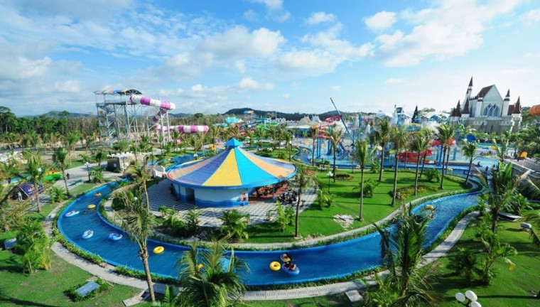 the eastern pearl hotel resort and amusement