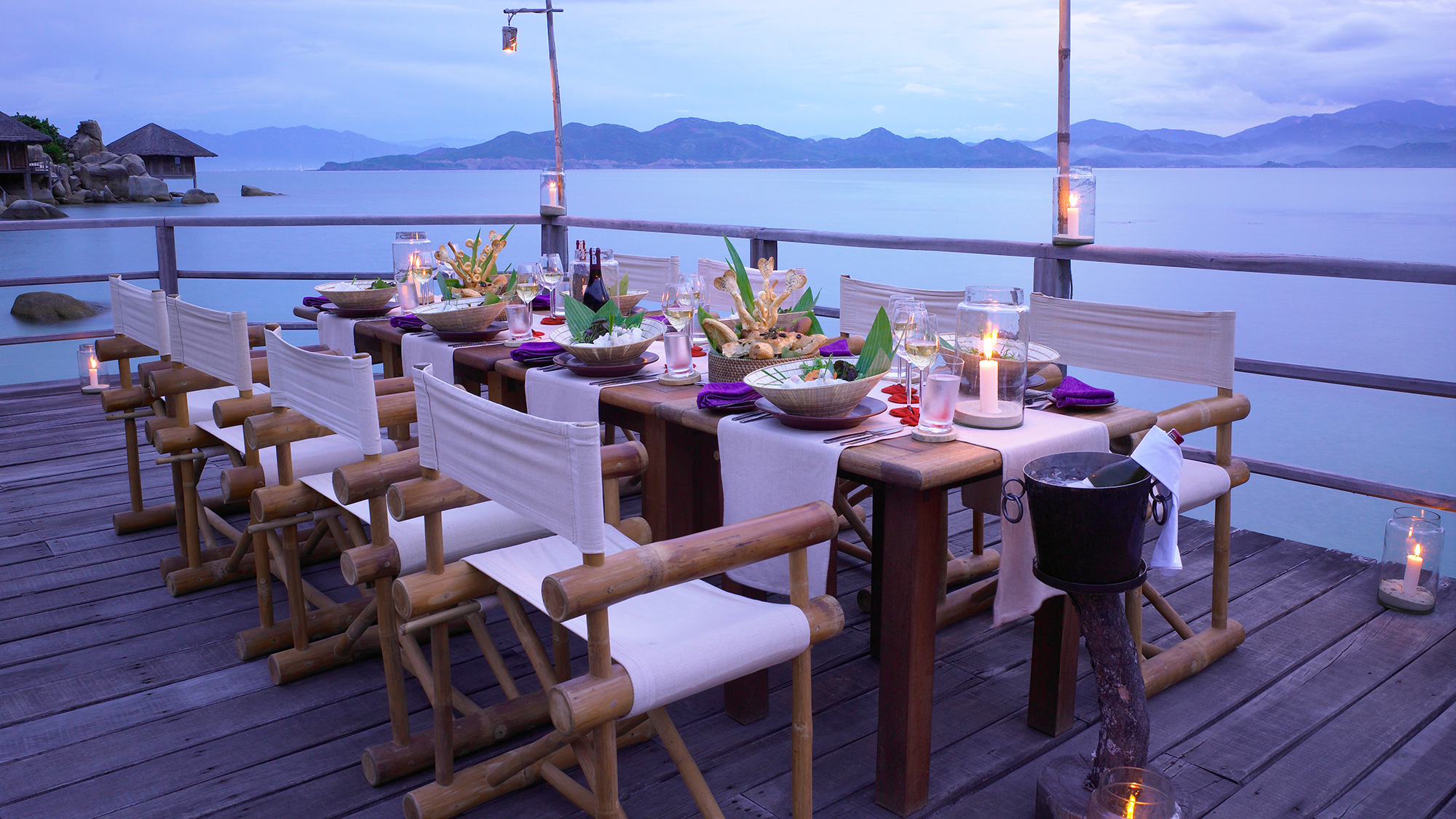 6. Dining by The Bay at Six Senses Ninh Van Bay